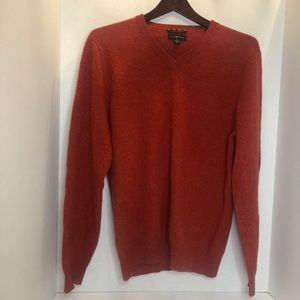 Red Cashmere Sweater (S) NWOT